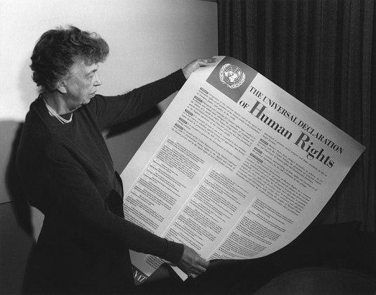 Eleanor Roosevelt, Wikimedia Commons