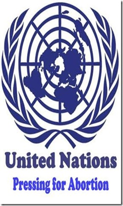 UN pressing for abortion