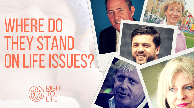 Conservative leadership candidates on life issues