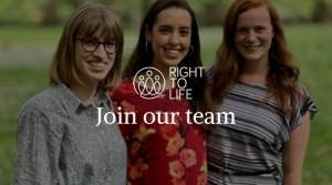 Right To Life UK are hiring for a number of permanent and short-term positions