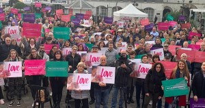 Huge turnout for pro-life rally in Gibraltar, ahead of major abortion referendum