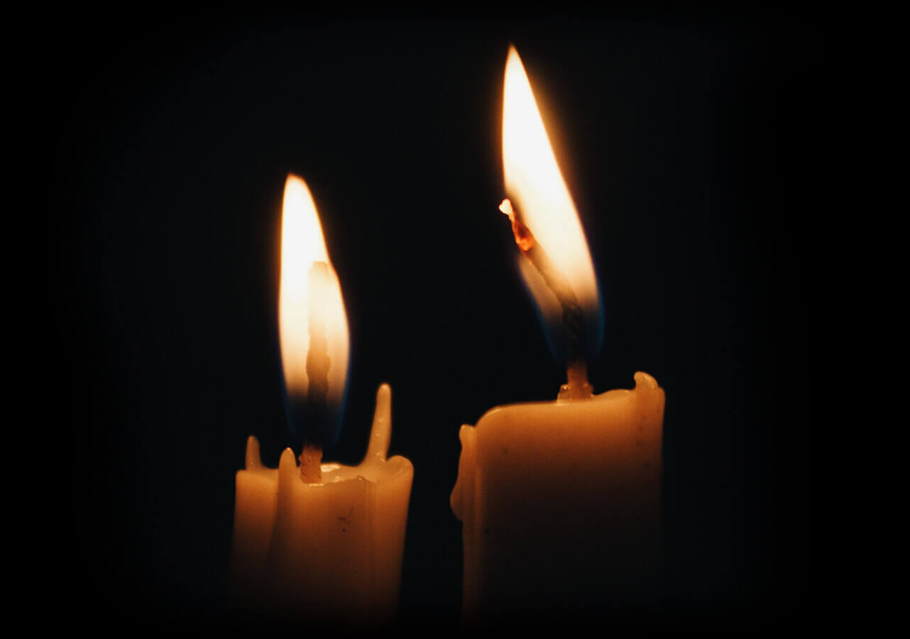 Image of two candles