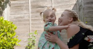 Mother speaks of joy after baby who had spina bifida surgery in the womb learns to walk