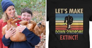 Actress Sally Philips criticises Amazon for Down's syndrome extinction t-shirts