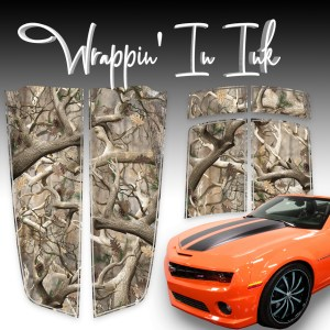 Camo Stripes compatible with Chevy Camara 2010-2015