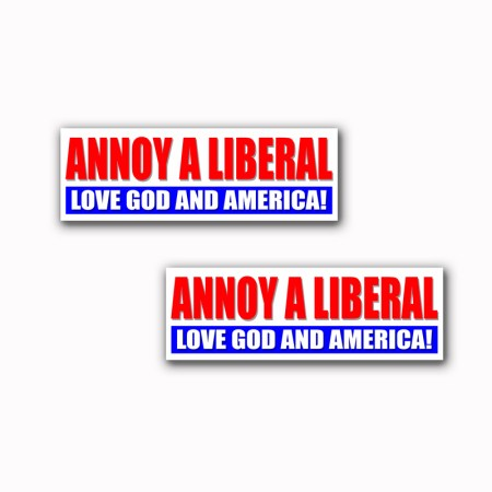 Annoy A Liberal Stickers