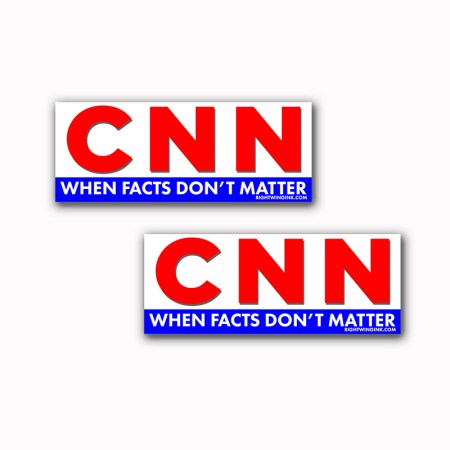 CNN When Facts Dont Matter Sticker