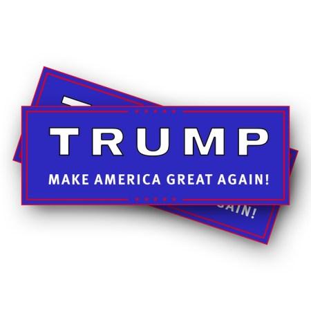 Trump Make America Great Again Stickers