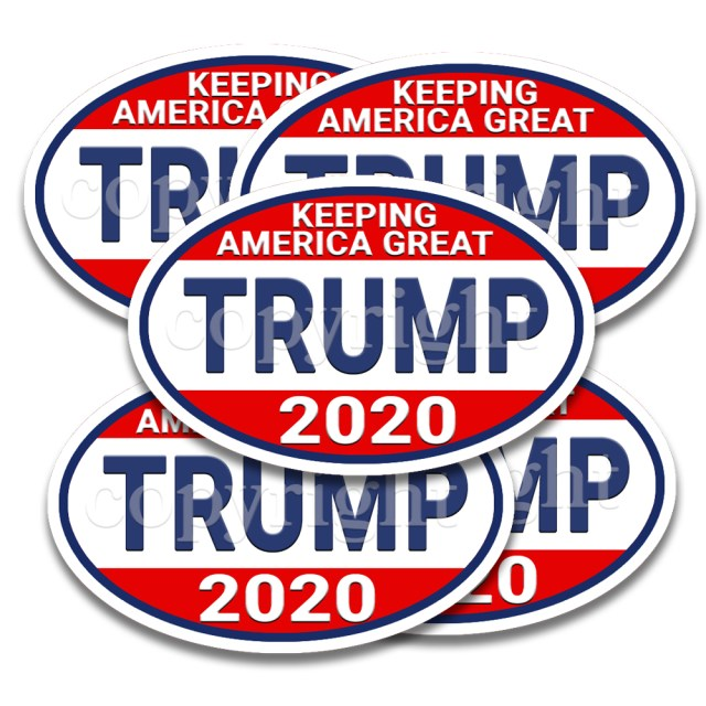 Trump 2020 Keeping America Great Stickers 5