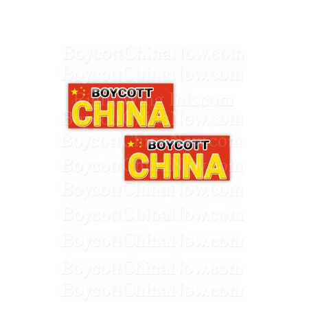 Boycott-China-Stickers