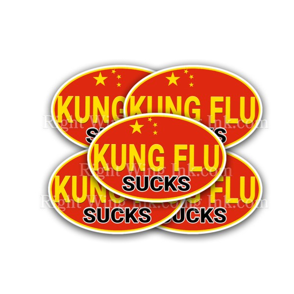 Kung Flu Stickers 5 Pack