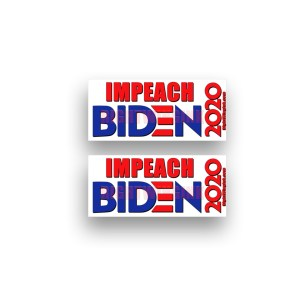 Impeach Biden Stickers