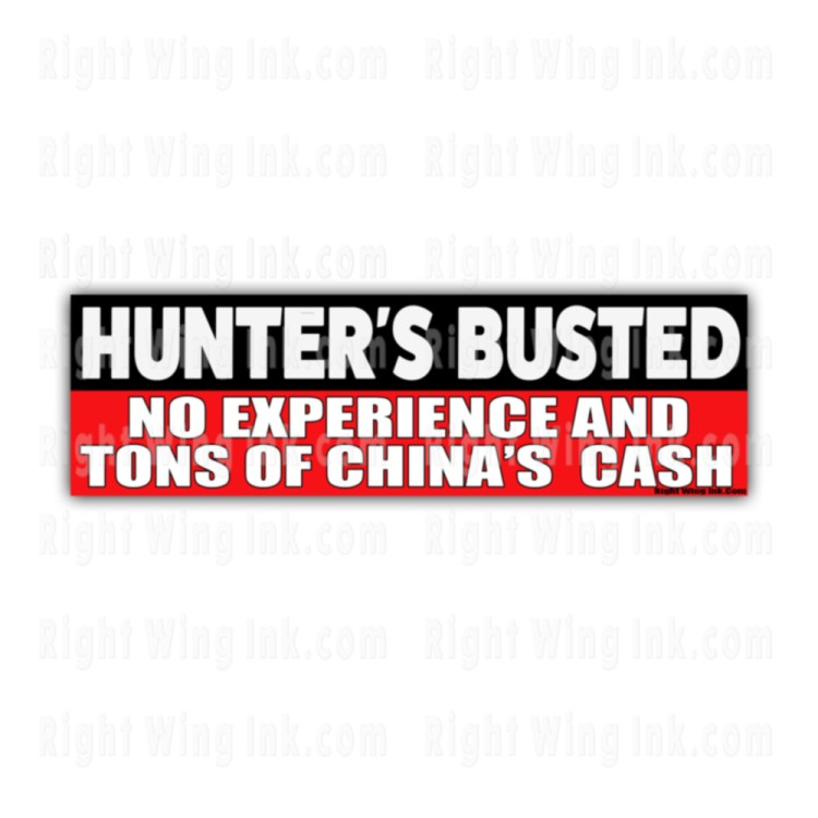 Hunters Busted Stickers