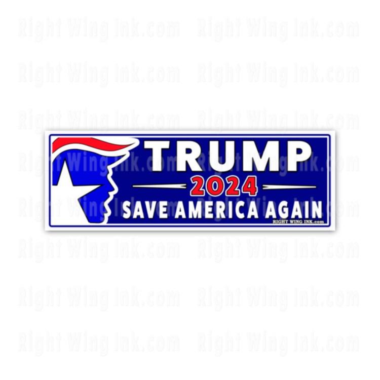 TRUMP 2024 Stickers Save America Again