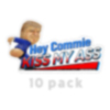 Hey Commie Kiss My Ass Stickers 10