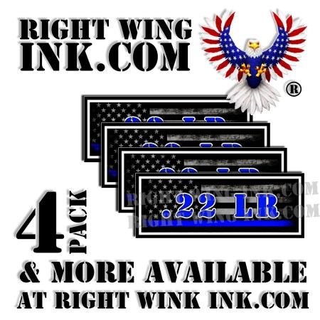 .22 LR Ammo Can Decals Stickers