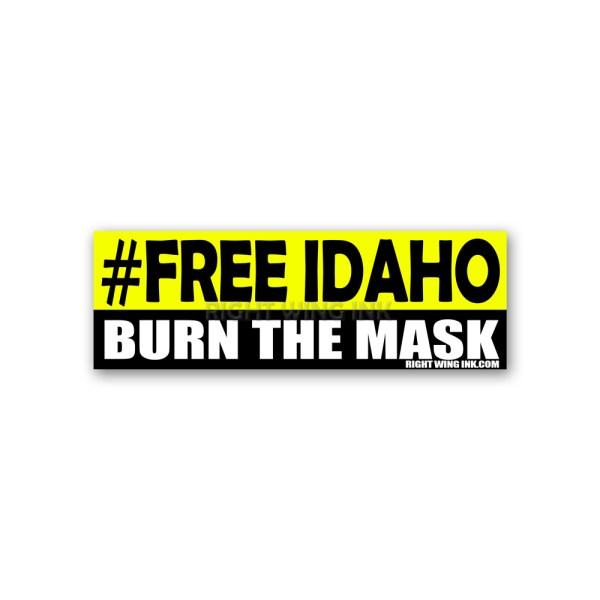 Free Idaho Stickers