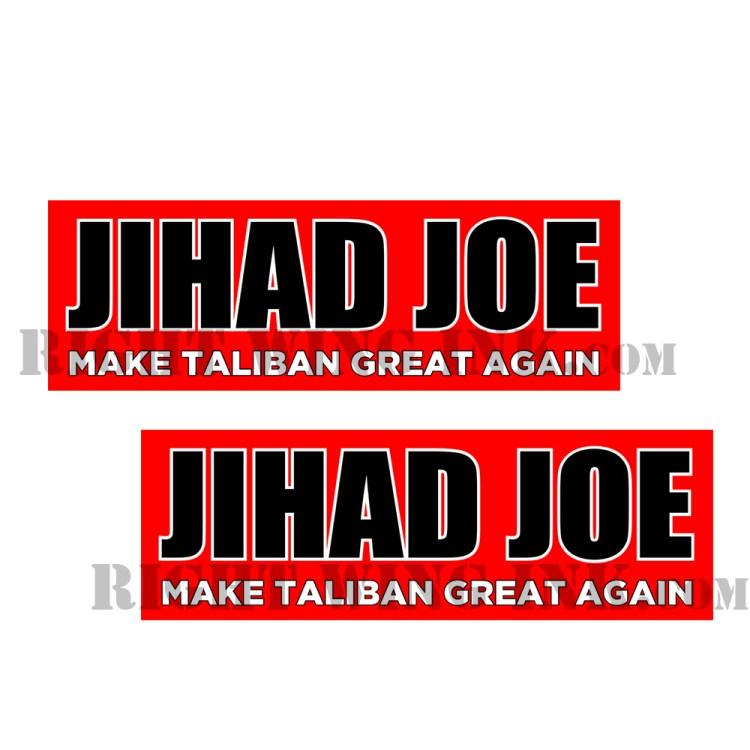Jihad Joe Stickers Red - 2 Pack