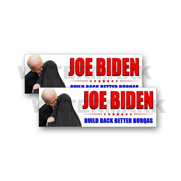Joe Biden Build Back Better Burqas
