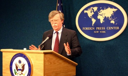 Interview with Ambassador John Bolton at His Campaign Stop for Nicholson