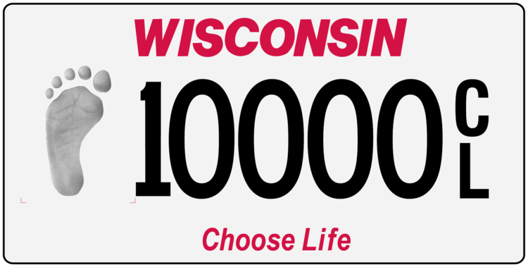New Choose Life Plate is Worth the Trouble