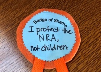 Gun Opponents Send In the Children With Notes From Mommy