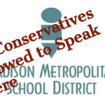 The Left's anti-cop thuggery got physical at Madison school district hdq