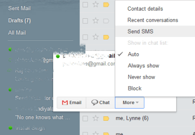How to send Free SMS from Gmail - RIGHT ya LEFT