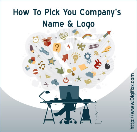 company name business or blog