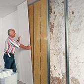 Begradigen und Verschönern von Wänden leicht gemacht Rigips Heimwerker