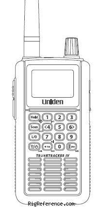 Uniden-Bearcat UBCD396T, Handheld HF/VHF/UHF Scanner