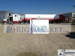 New Nitrogen Bulk Trailer, Capacity of 7706 US Gallons,