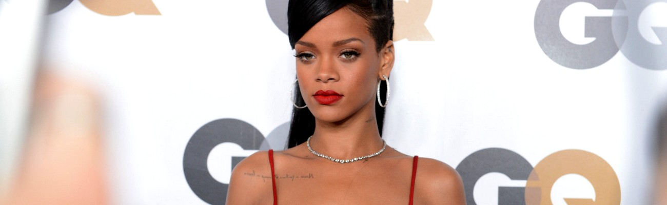 Rihanna attends GQ Men Of The Year party