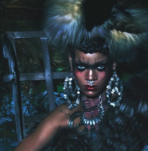 Rihanna for W Magazine 2014 photoshoot