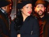 Rihanna attends Miyake Mugler Ball November 8, 2014 rihanna-fenty.com