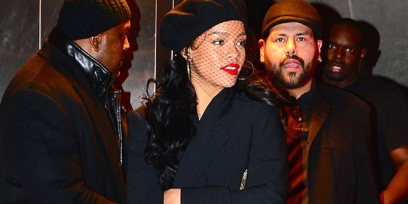 Rihanna attends Miyake Mugler Ball