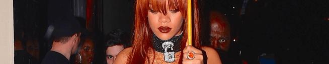 Rihanna rocks new hairdo in NYC