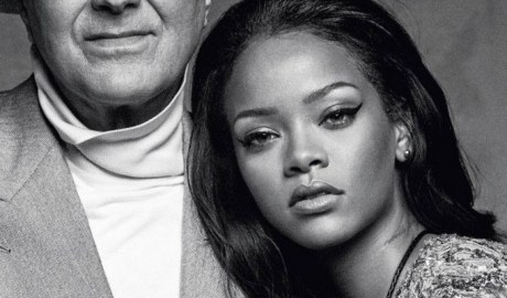 WATCH: On set with Rihanna and Manolo for British Vogue