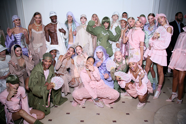 FENTY x PUMA by Rihanna : Backstage - Paris Fashion Week Spring/Summer 2017
