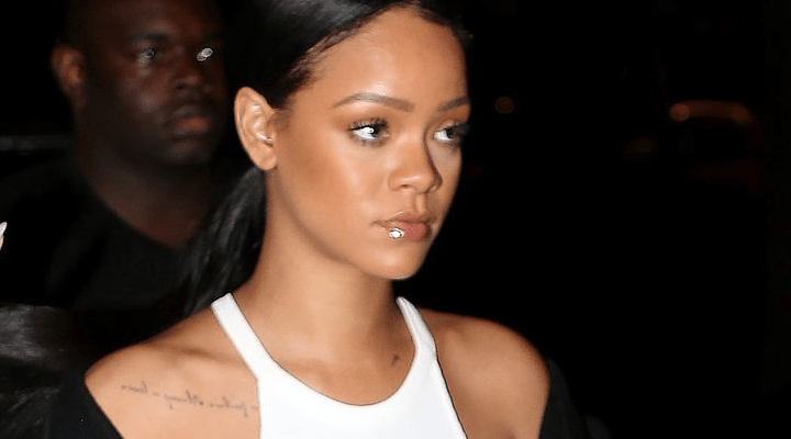 Rihanna out and about in Paris