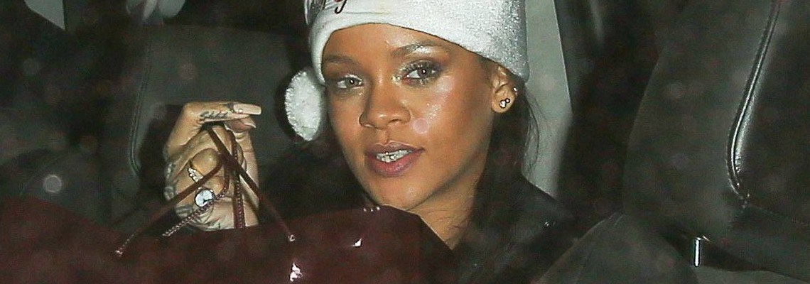 Rihanna throws the Fenty Corp Christmas party