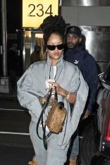 Rihanna out in Manhattan, New York on December 9, 2016