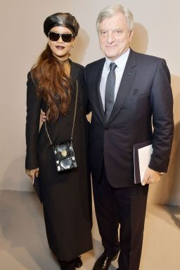 Rihanna attends Dior fashion show in Paris on March 3, 2017 Events