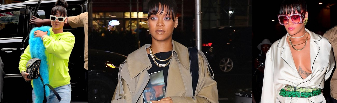 Candids Update: Rihanna out and about in New York