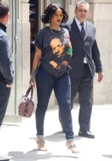 Rihanna goes out and about in New York on May 24, 2017 photos
