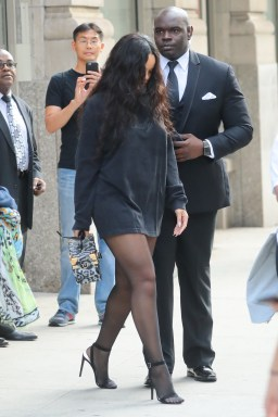 Rihanna leaving her apartment in New York - September 14