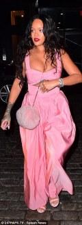 Rihanna out for a dinner in New York - September 16