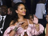 Rihanna attends Fenty Beauty launch in Madrid