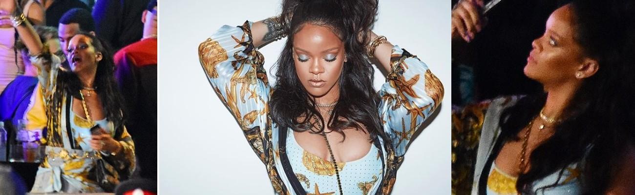 Rihanna enjoys her time off in Barbados
