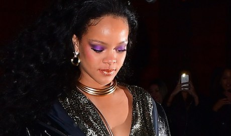 Rihanna attends Grammy Awards after party